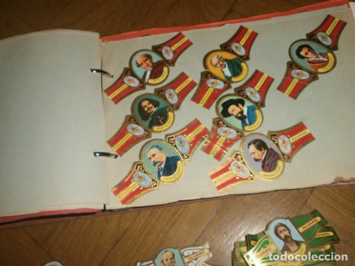 Vitolas de colección: Gran lote más de 400 vitolas Capote, Alvaro, personajes, Quijote, repetidas - solo valientes. - Foto 5 - 236989845