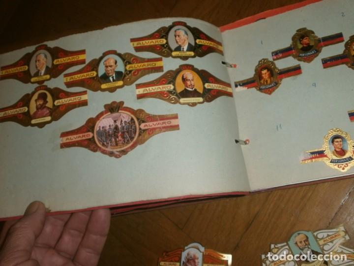 Vitolas de colección: Gran lote más de 400 vitolas Capote, Alvaro, personajes, Quijote, repetidas - solo valientes. - Foto 10 - 236989845