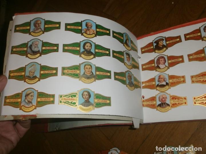 Vitolas de colección: Gran lote más de 400 vitolas Capote, Alvaro, personajes, Quijote, repetidas - solo valientes. - Foto 11 - 236989845