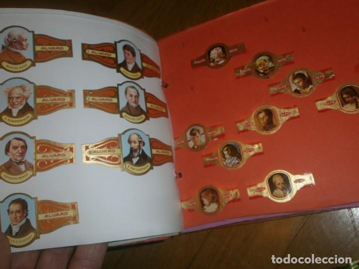 Vitolas de colección: Gran lote más de 400 vitolas Capote, Alvaro, personajes, Quijote, repetidas - solo valientes. - Foto 12 - 236989845