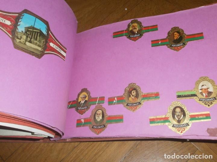 Vitolas de colección: Gran lote más de 400 vitolas Capote, Alvaro, personajes, Quijote, repetidas - solo valientes. - Foto 19 - 236989845