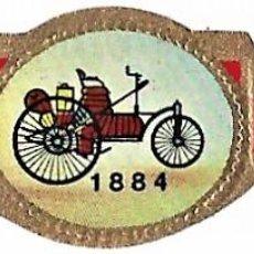 Vitolas de colección: VITOLAS TAF SERIE 1 HISTORIA DEL AUTOMÓVIL COMPLETA 25 VITOLAS. Lote 243777170