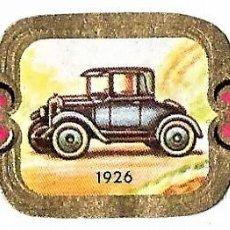 Vitolas de colección: VITOLAS TAF SERIE 2 HISTORIA DEL AUTOMÓVIL COMPLETA 24 VITOLAS. Lote 243777410