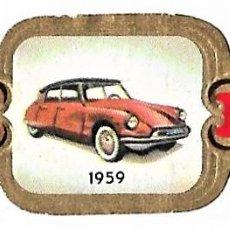 Vitolas de colección: VITOLAS TAF SERIE 4 HISTORIA DEL AUTOMÓVIL COMPLETA 24 VITOLAS. Lote 243777740