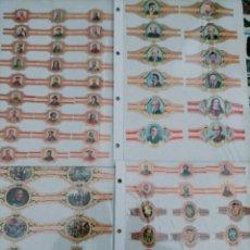 Vitolas de colección: 4 PLACAS DE VITOLAS. Lote 243994745