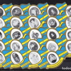 Vitolas de colección: ROYAL FLUSH, ANTIGUAS MINIATURAS INGLESAS, AZUL, 24 VITOLAS, SERIE COMPLETA.. Lote 244741470