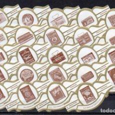 Vitole di collezione: ROYAL FLUSH, ANTIGUAS TABAQUERAS AMERICANAS, BLANCO, 24 VITOLAS, SERIE COMPLETA.. Lote 244741645