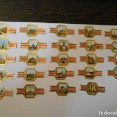Vitolas de colección: VITOLAS-VIEIL ANVERS-AMBERES-24 VITOLAS-SERIE COMPLETA-MUY BONITA. Lote 245218765