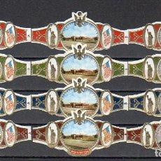 Vitolas de colección: WASHINGTON, U.S.A. 12 VITOLAS, SERIE COMPLETA.. Lote 245722030