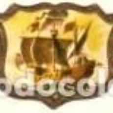Vitolas de colección: VITOLAS TAF BARCOS SERIE 1ª COMPLETA 24 VITOLAS. Lote 246513615