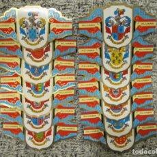 Vitolas de colección: LOTE DE VITOLAS - HERALDICA - ESCUDOS APELLIDOS - 1. Lote 246864275