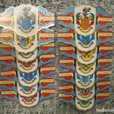Vitolas de colección: LOTE DE VITOLAS - HERALDICA - ESCUDOS APELLIDOS - 2. Lote 246864430