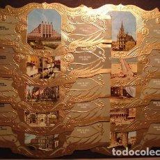 Anéis de charuto de coleção: DERK DE VRIES, TURISMO, SERIE 31, GRAN FORMATO, 10 VITOLINAS, SERIE COMPLETA.. Lote 251246405