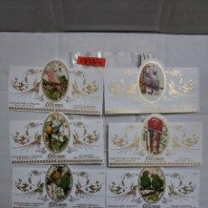Vitolas de colección: 17264 - VITOLAS - MARCA ALVARO - SERIE LORITOS - LOTE DE 12 UNIDADES. Lote 253608680