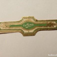 Vitolas de colección: VITOLA - LA FAMA.. Lote 253961150