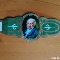 Vitolas de colección: VITOLA - GOYA. Lote 253987780