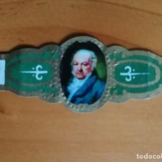 Vitolas de colección: VITOLA - GOYA. Lote 253987985