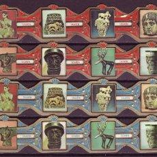 Anéis de charuto de coleção: DON DIAZ, ARTE DE ORIENTE MEDIO, 24 VITOLAS, SERIE COMPLETA.. Lote 254073605