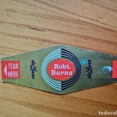 Vitolas de colección: VITOLA - ROBT. BURNS - DE LUXE.. Lote 254285915