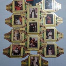 Vitolas de colección: 10282 - VITOLAS - MARCA ALVARO - SERIE PINTORES ESPAÑOLES ZURBARAN III - LOTE DE 12 UNIDADES. Lote 254304960