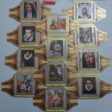 Vitolas de colección: 10285 - VITOLAS - MARCA ALVARO - SERIE PINTORES ESPAÑOLES EL GRECO II - LOTE DE 12 UNIDADES. Lote 254305075