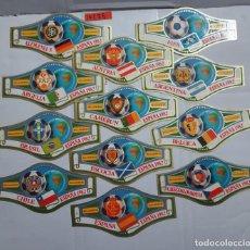 Vitolas de colección: 10286 - VITOLAS - MARCA ALVARO - SERIE CAMPEONATO MUNDIAL DE FUTBOL ESPAÑA 82 - LOTE DE 24 UNIDADES. Lote 254305150