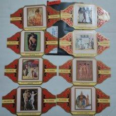 Vitolas de colección: 10291 - VITOLAS - MARCA ALVARO - S PINTORESESPAÑOLES EL DESNUDO EL EL ARTE I - LOTE DE 16 UNIDADES. Lote 254305380