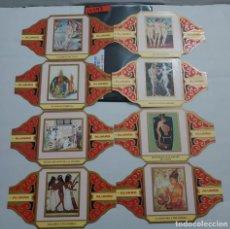 Vitolas de colección: 10293 - VITOLAS - MARCA ALVARO - S PINTORESESPAÑOLES EL DESNUDO EL EL ARTE II - LOTE DE 16 UNIDADES. Lote 254305410