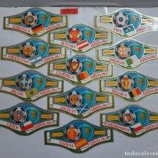 Vitolas de colección: 10512 - VITOLAS - MARCA ALVARO - SERIE CAMPEONATO MUNDIAL DE FUTBOL ESPAÑA 82 - LOTE DE 24 UNIDADES. Lote 254305565