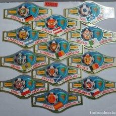 Vitolas de colección: 10513 - VITOLAS - MARCA ALVARO - SERIE CAMPEONATO MUNDIAL DE FUTBOL ESPAÑA 82 - LOTE DE 24 UNIDADES. Lote 254305610