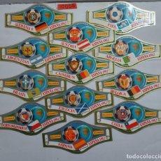 Vitolas de colección: 10005 - VITOLAS - MARCA ALVARO - SERIE CAMPEONATO MUNDIAL DE FUTBOL ESPAÑA 82 - LOTE DE 24 UNIDADES. Lote 254305735