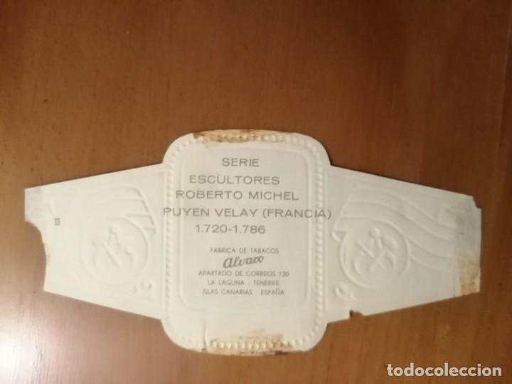 Vitolas de colección: VITOLA - ALVARO - SERIE: ESCULTORES - ROBERTO MICHEL - Foto 2 - 254643205