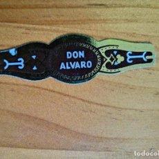 Vitolas de colección: VITOLA - DON ALVARO.. Lote 256018040