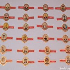 Vitolas de colección: SERIE COMPLETA DE 24 VITOLAS PERSONAJES SERIE A - PEDRO CAPOTE. Lote 257292530