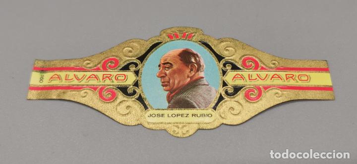VITOLA - ALVARO - SERIE LITERATOS -JOSEE LOPEZ-RUBIO (Coleccionismo - Objetos para Fumar - Vitolas)