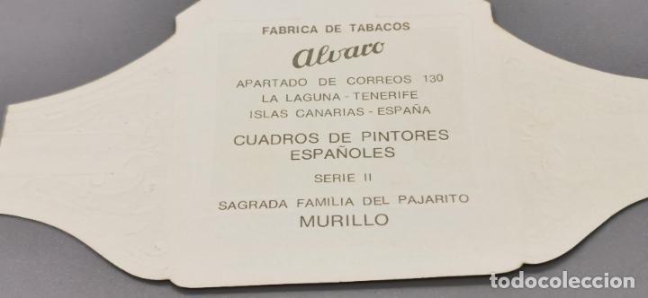 Vitolas de colección: VITOLA FABRICA DE TABACOS ALVARO. SAGRADA FAMILIA DEL PAJARITO - Foto 3 - 263563335