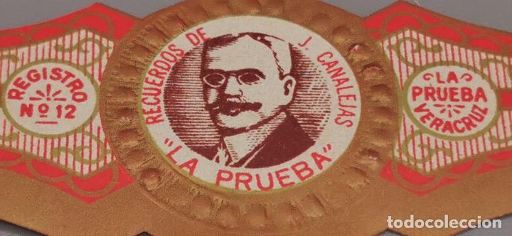 Vitolas de colección: VITOLA CLASICA: , HOMBRES MEXICO, RECUERDOS DE J. CANALEJAS, LA PRUEBA, MEXICO - Foto 3 - 263570565