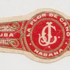 Vitolas de colección: LA FLOR DE CANO - CUBA - LA HABANA. Lote 264073490