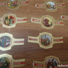 Vitolas de colección: VITOLAS - AGUERE - LOTE DE 21 VITOLAS TODAS DIFERENTES - SERIE COLON. Lote 267137799