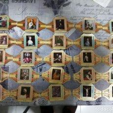 Vitolas de colección: VITOLA ALVARO-SERIE CUADRO DE PINTORES ESPAÑOLES 59 SIN REPETIR. Lote 269068238