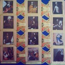 Vitolas de colección: ALVARO, RIBERA, SERIE 1ª, 12 VITOLINAS, SERIE COMPLETA.. Lote 269237608