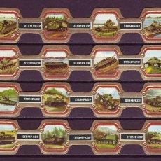 Vitolas de colección: STOMPKOP, TANQUES MILITARES, 24 VITOLAS, SERIE COMPLETA.. Lote 269238978