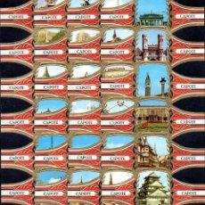 Vitolas de colección: TABACOS CAPOTE, MARAVILLAS MUNDIALES, 24 VITOLINAS, SERIE COMPLETA.. Lote 269239548