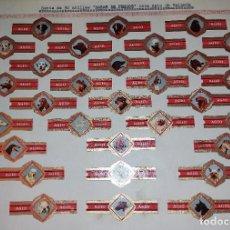 Vitolas de colección: 30 VITOLAS ANTIGUAS SERIE COMPLETA RAZAS DE PERROS CASA AGIO DE HOLANDA ORIGINALES. Lote 269449128