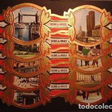 Vitolas de colección: DERK DE VRIES, TURISMO, SERIE 191, GRAN FORMATO, 10 VITOLINAS, SERIE COMPLETA.. Lote 270242418