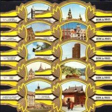 Vitolas de colección: DERK DE VRIES, TURISMO, SERIE 193, GRAN FORMATO, 10 VITOLINAS, SERIE COMPLETA.. Lote 270242473