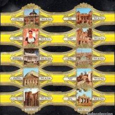 Vitolas de colección: DERK DE VRIES, TURISMO, SERIE 254, GRAN FORMATO, 10 VITOLINAS, SERIE COMPLETA.. Lote 270242698