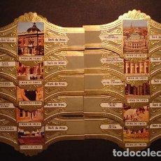 Vitolas de colección: DERK DE VRIES, TURISMO, SERIE 255, GRAN FORMATO, 10 VITOLINAS, SERIE COMPLETA.. Lote 270242728