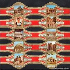 Vitolas de colección: DERK DE VRIES, TURISMO, SERIE 256, GRAN FORMATO, 10 VITOLINAS, SERIE COMPLETA.. Lote 270242758