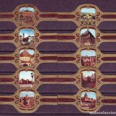 Vitolas de colección: DERK DE VRIES, TURISMO, SERIE 293, 10 VITOLAS, SERIE COMPLETA.. Lote 270242988